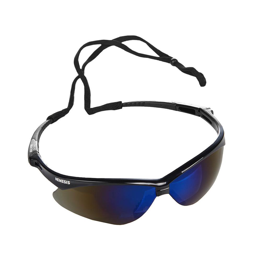 Oculos Nemesis Lente Azul Espelhada 8302 - OCULOS NEMESIS LENTE AZUL  ESPELHADA 921e5768f3