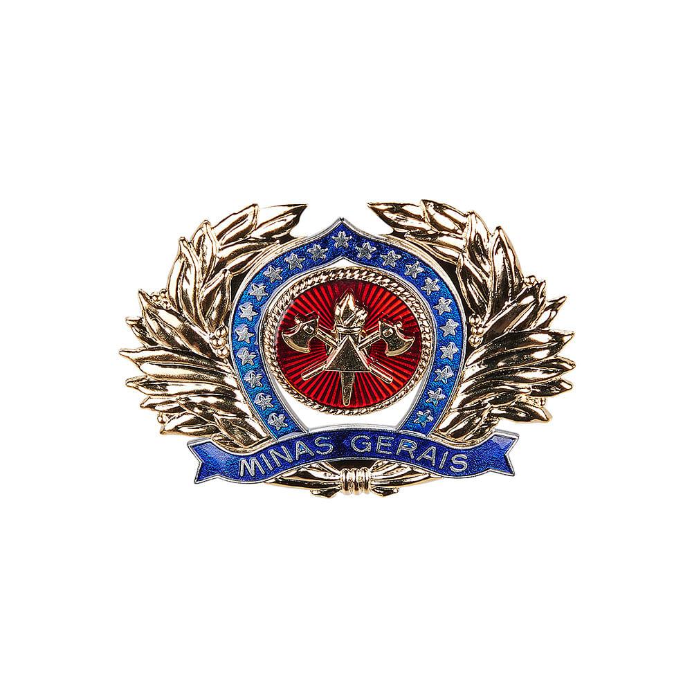 bf1366d817 Distintivo de Metal para Quepe de Oficial do CBMMG | Citerol ...