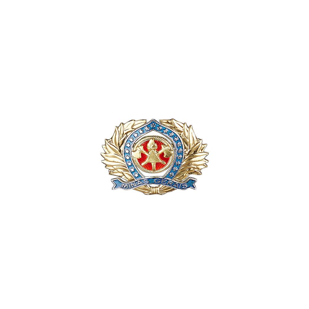 efec4f3476 Distintivo de Metal para Boina de Oficial do CBMMG | Citerol ...
