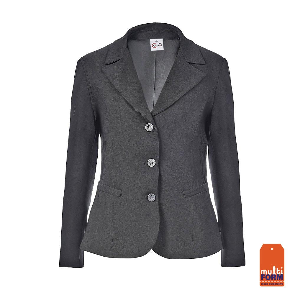 976865630 Blazer Feminino Cinza | New Confort - Citerol