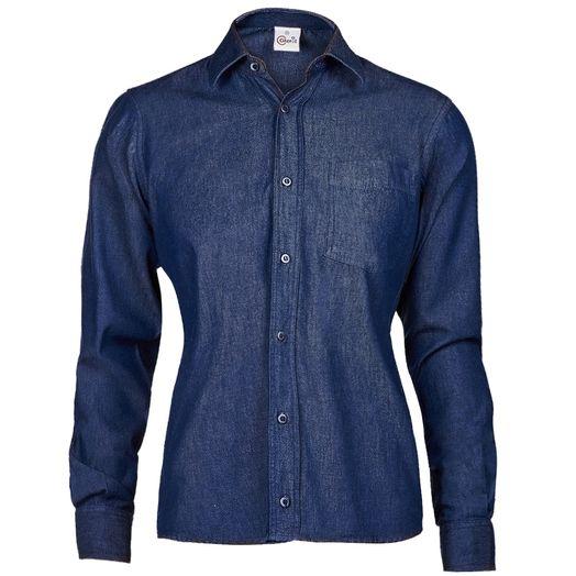 Camisas_Jeans_feminina_ML